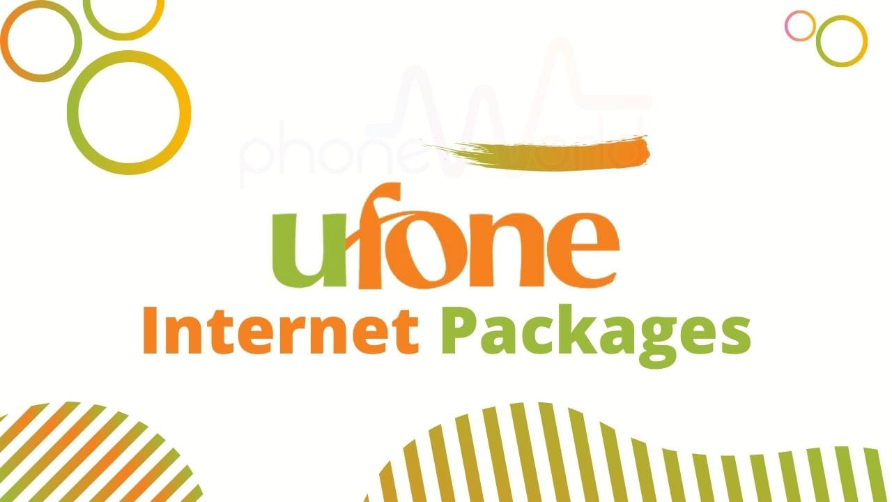 Ufone Internet Packages 3G 4G Updated Net Packages free mbs