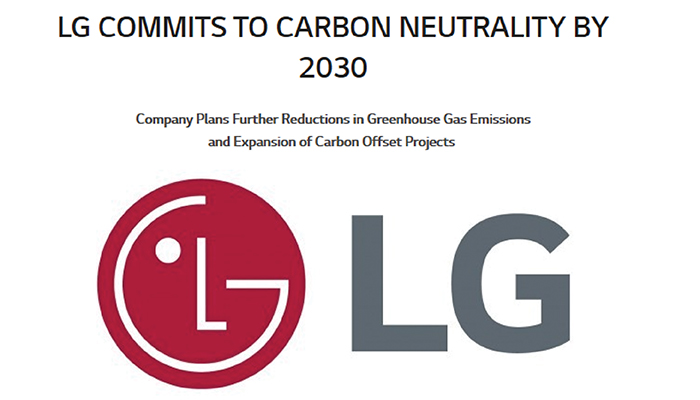 Commits Carbon Neutrality
