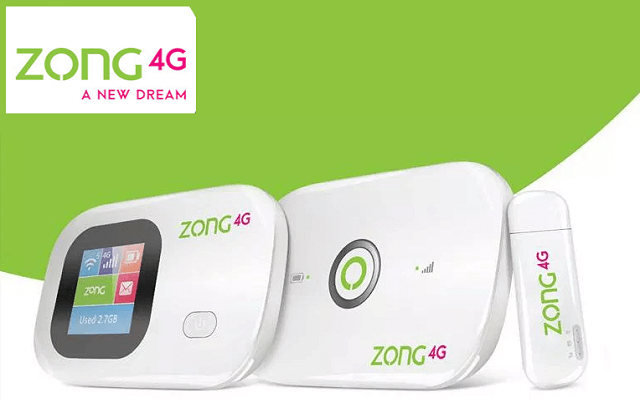 Zong Internet Device Packages Details