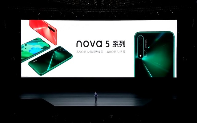 Huawei Nova 5 Series Goes Official