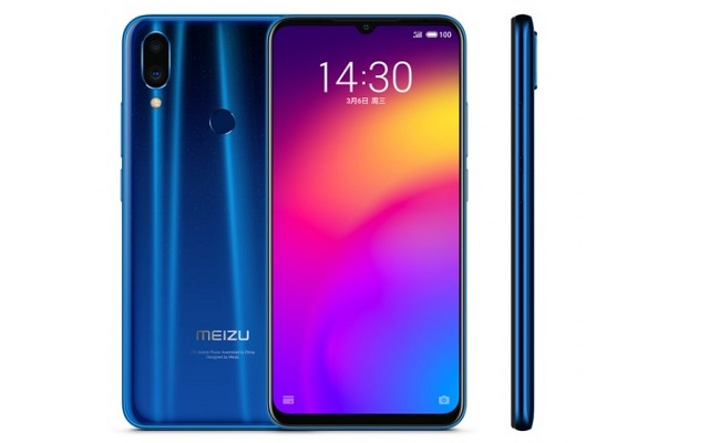 Meizu Note 9 Starlight Blue Color Variant