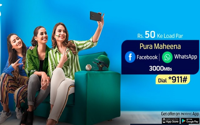 Telenor Monthly Facebook offer