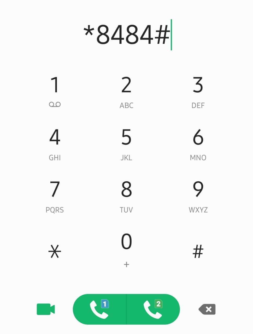 ussd dial 8484 dirbs