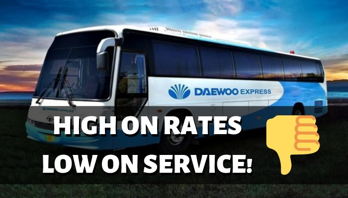 Daewoo Express: High on Rate Low on Service