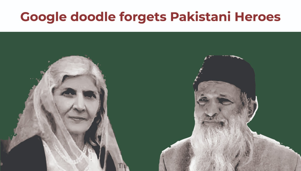 Google Doodle Forgets Pakistani Heroes; is it Accidentally or Intentionally??