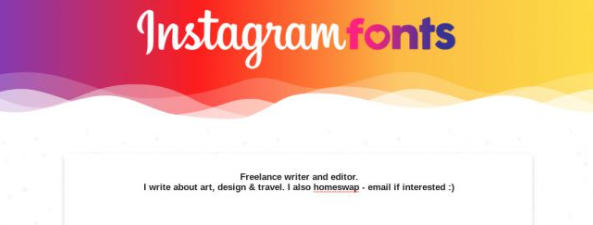 Best Instagram Font Generators