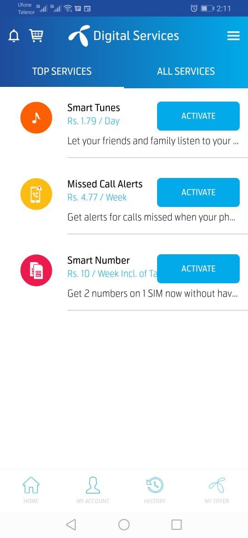 My Telenor App Image