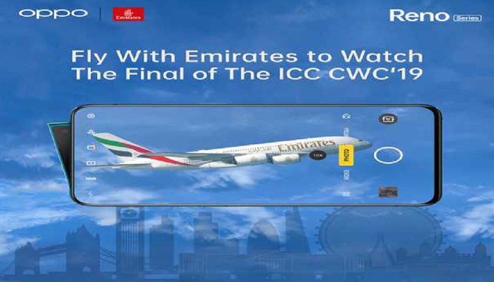 Live Your Dream Of Watching The ICC World Cup Final Courtesy OPPO