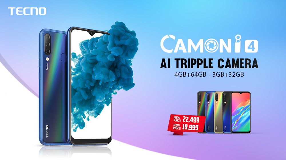 TECNO Mobile Reduced The Price Of Its Flagship Model Camon i4TECNO Mobile Reduced The Price Of Its Flagship Model Camon i4