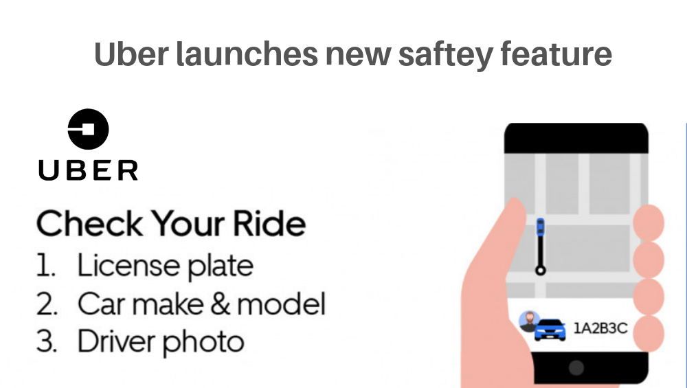 Photo of Uber Launches New Safety Feature For Users
