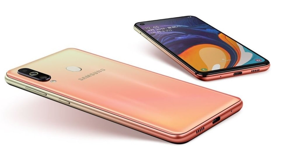 Galaxy M40 Cocktail Orange