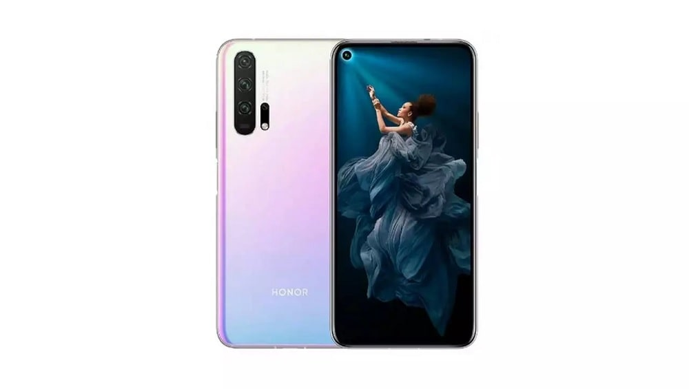 Honor 20 Pro Icelandic Illusion color