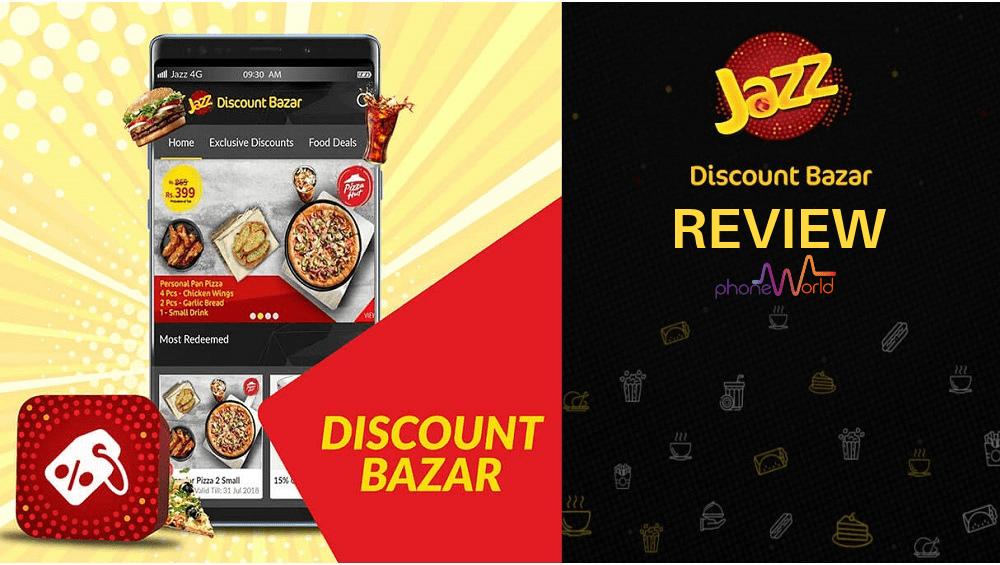 Jazz Discount bazar app