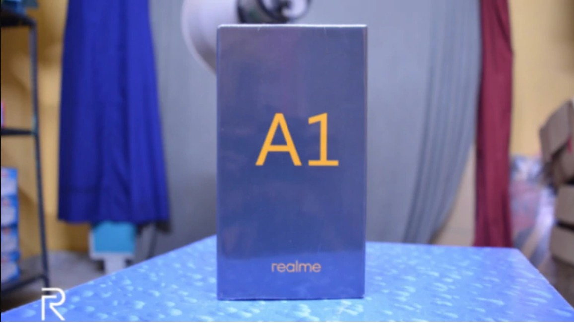 Realme A1 Retail Box Surfaced Online