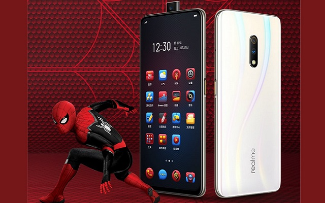 Realme X Spider-Man Edition
