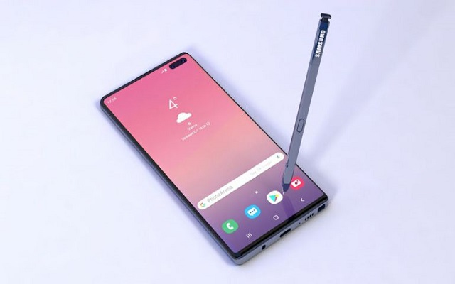 The Samsung Galaxy Note10 to Come with 3D ToF Sensor