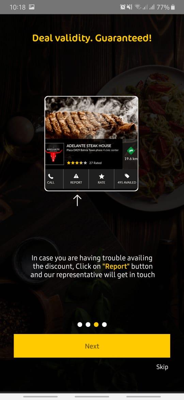 Jazz Discount App