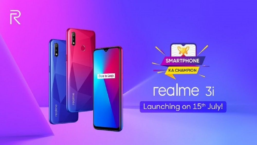 Realme 3i Launch Date Is Set To Be July 15