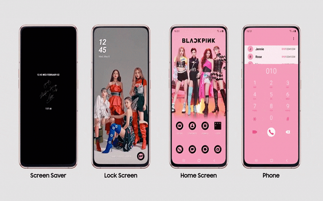 Galaxy A80 Black Pink Edition- A Perfect Choice For Girls