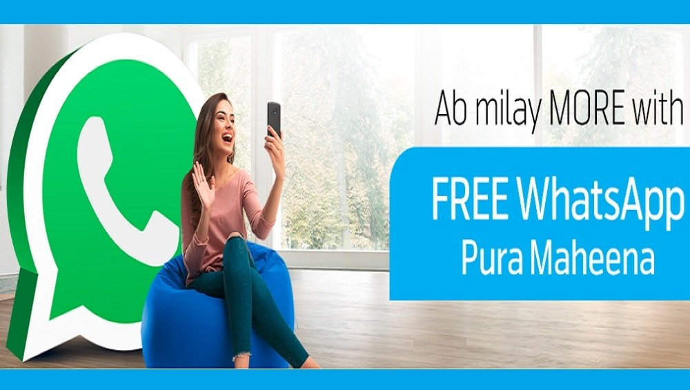 Telenor Free WhatsApp Offer