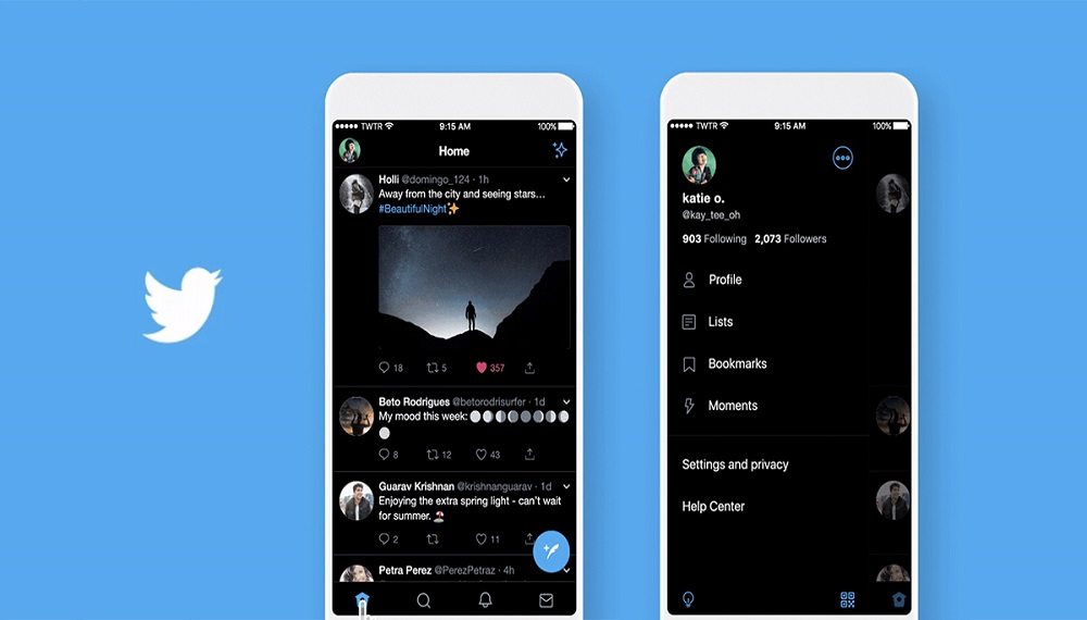 Twitter's 'Lights Out' Dark Mode is Coming to Android by Mid-September
