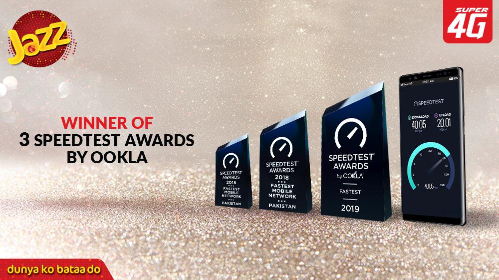 Jazz Ookla award 3