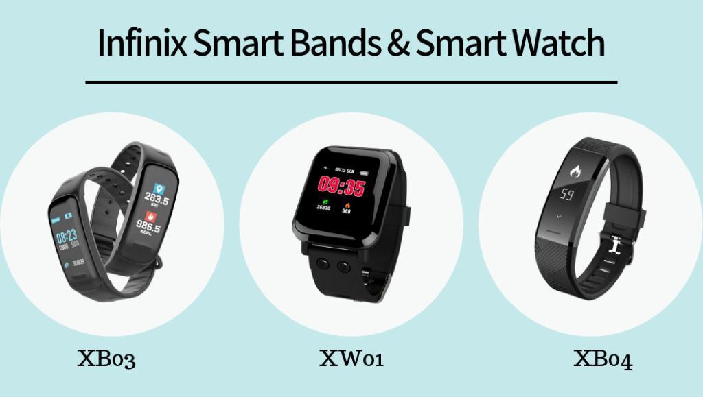 Photo of Infinix XB03 & XB04 Smart Band Bracelet And XW01 Smart Watch