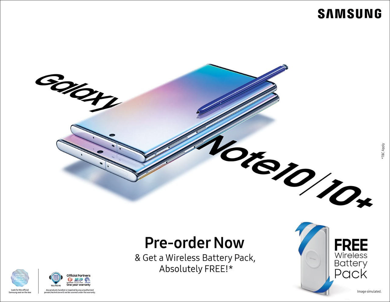 Samsung Galaxy Note 10|10+ Pre Bookings Now Open in Pakistan