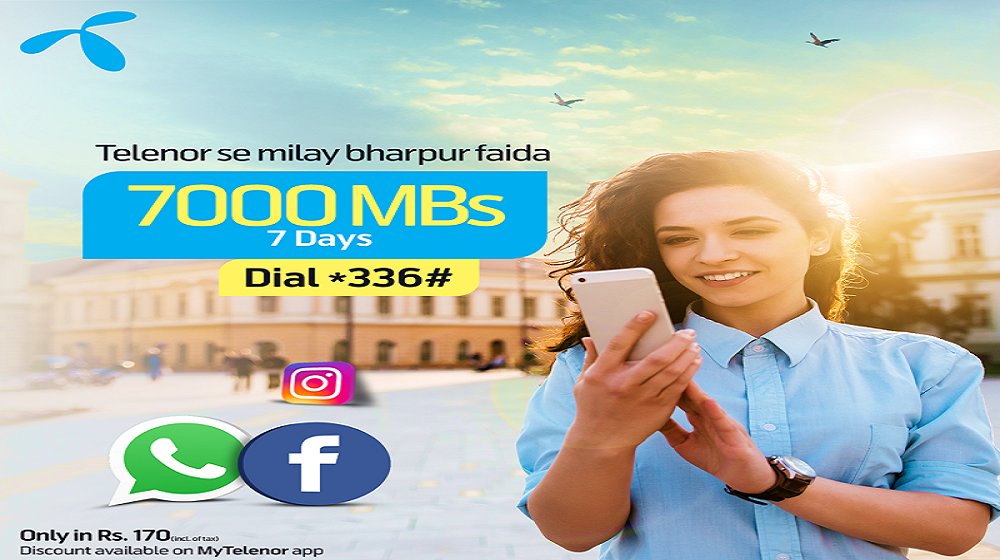 Telenor Updated 4G Weekly Ultra Offer