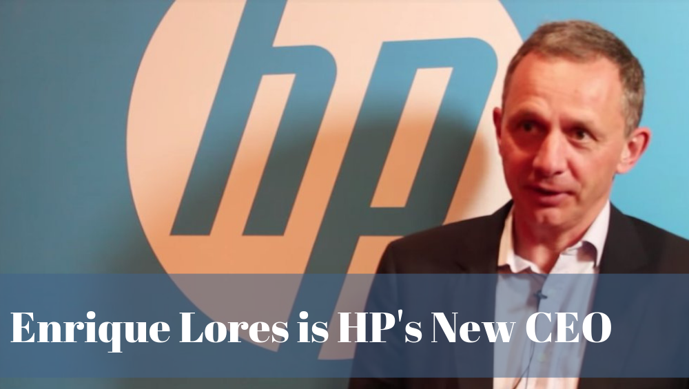 Enrique Lores is HP's New CEO