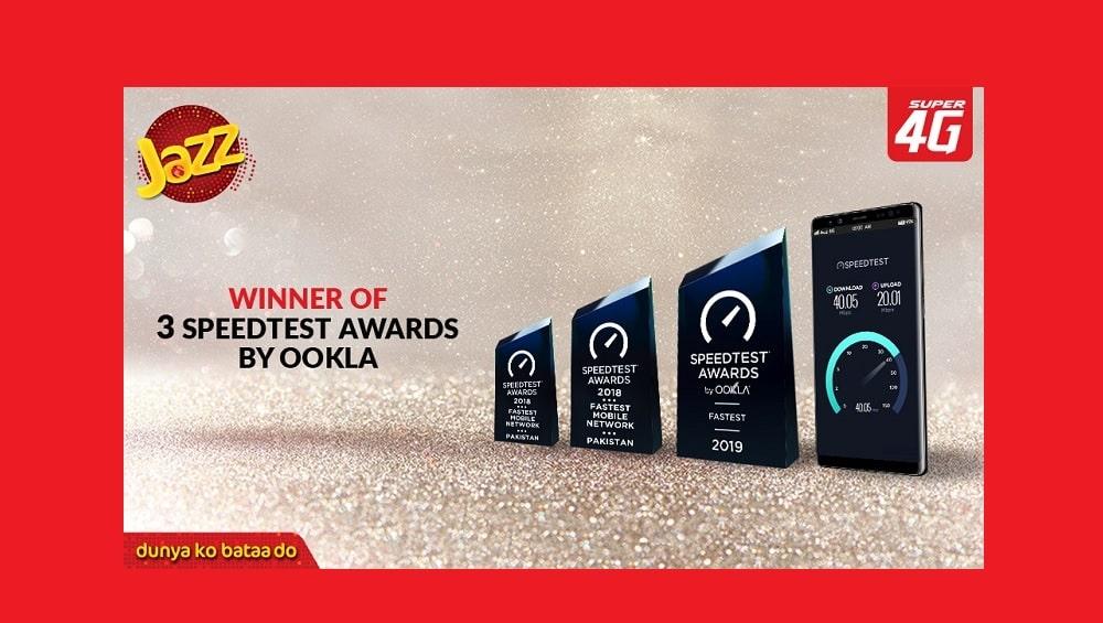 Jazz Ookla award