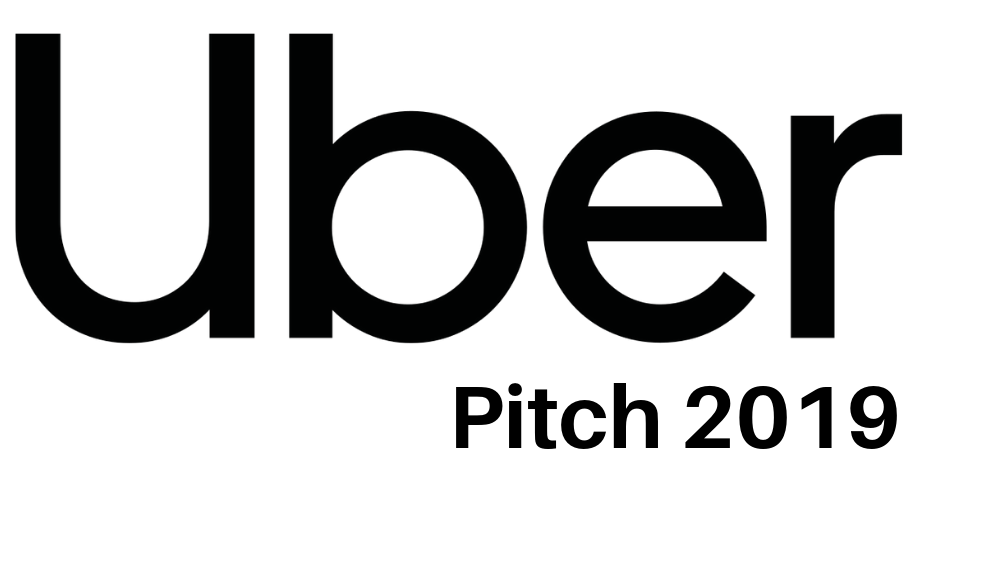Uber Pitch 2019