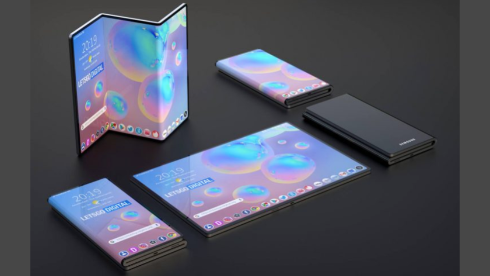 Samsung Charters Another Galaxy Fold Design!