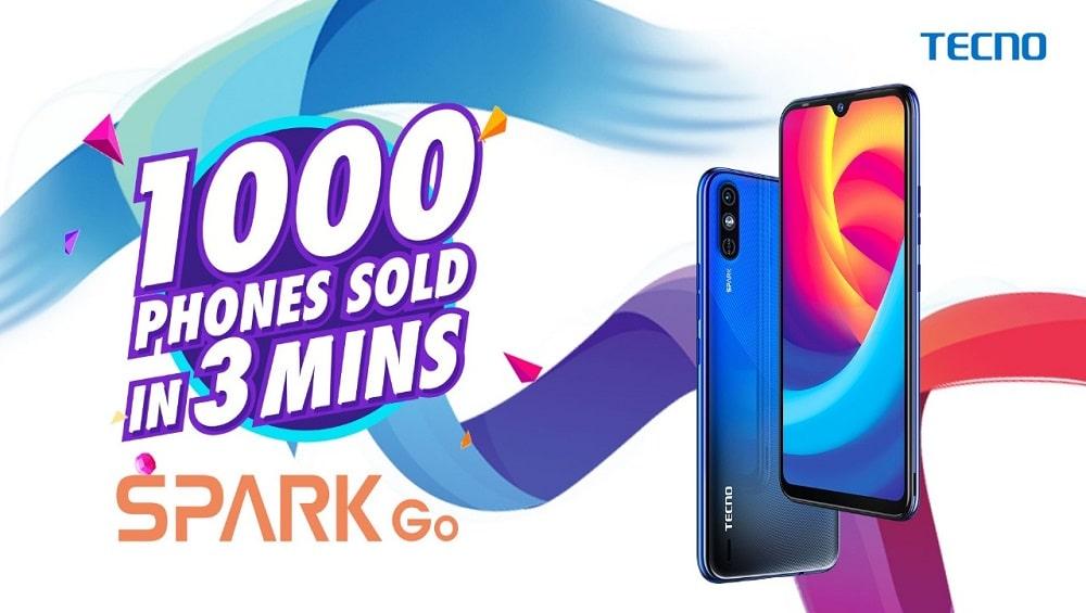 Tecno Spark Go sales