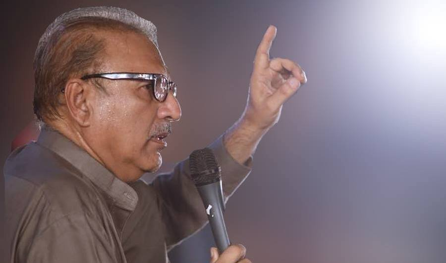 President Arif Alvi gets notice from Twitter for posting in Kashmir Favor