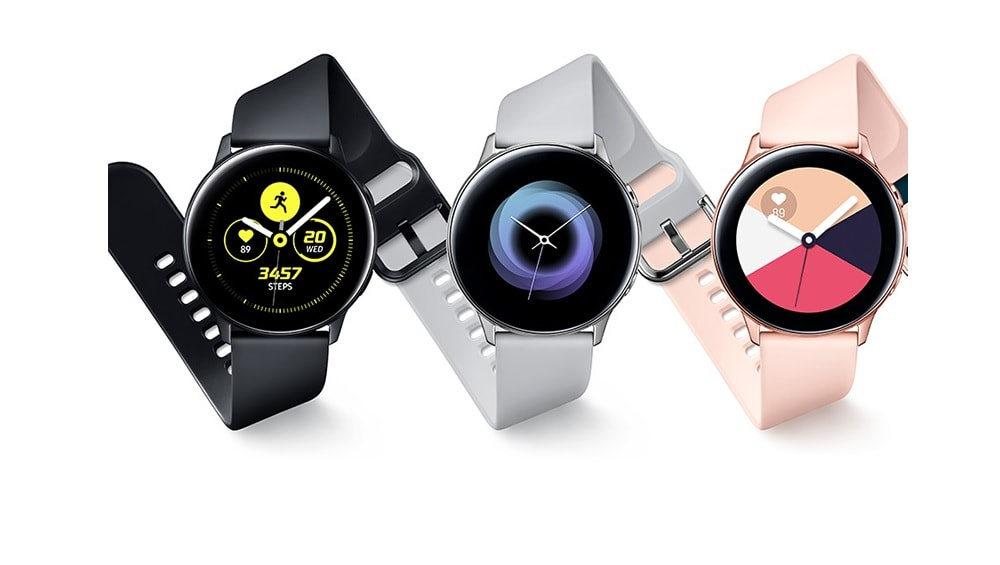 Galaxy Watch Active2 renders