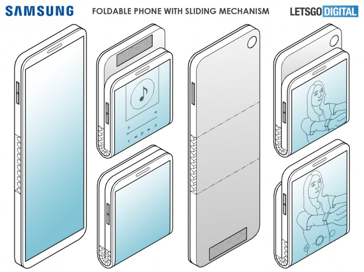 Samsung Vertically Foldable Phone- Another Addition to the Foldable Lineup