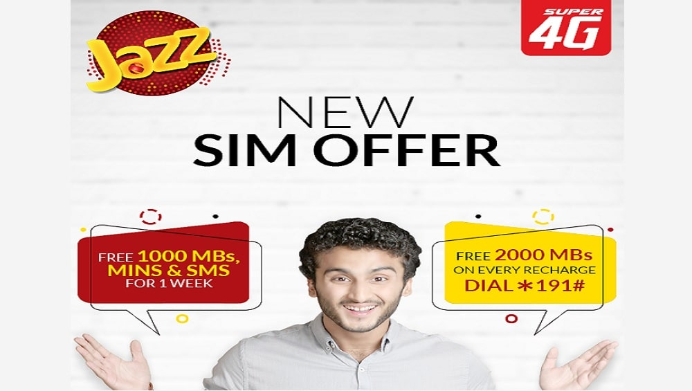 Jazz SIM Offer 2019