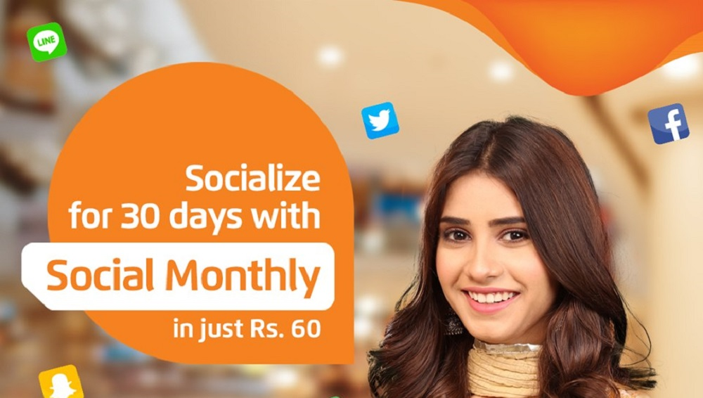 Ufone Introduces Social Monthly Offer in Rs. 60