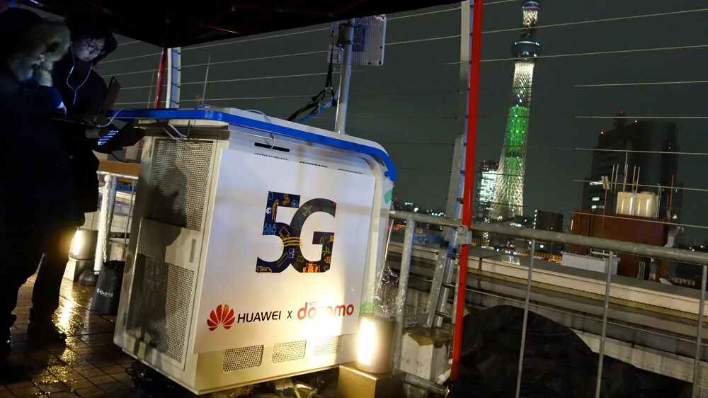 Huawei is producing 5G base stations without U.S. parts