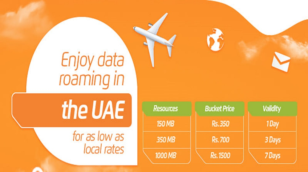 Enjoy Prepaid Data Roaming in UAE for Low Rates with Ufone