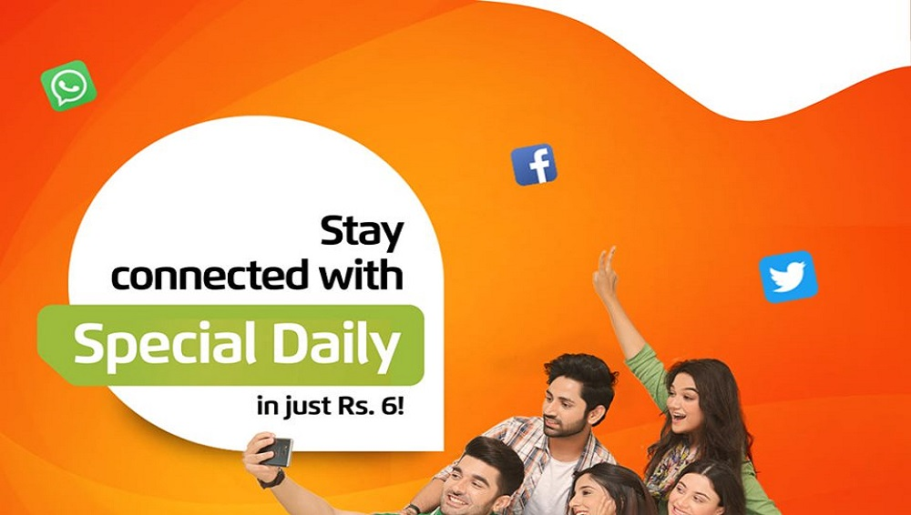 Ufone Special Daily Offer Facilitates you to Stay Connected with Loved ones in Rs. 6
