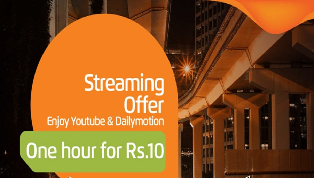 Now Enjoy Ufone Streaming Offer for Just Rs. 10