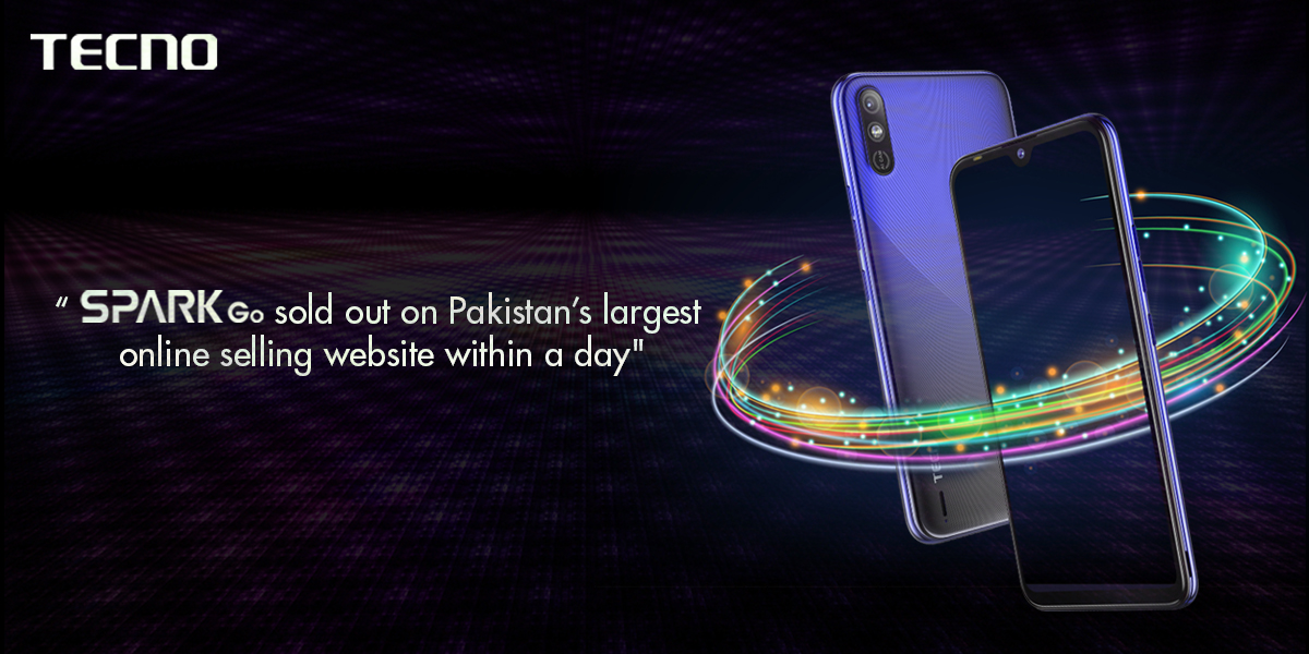 tecno in pakistan spark go