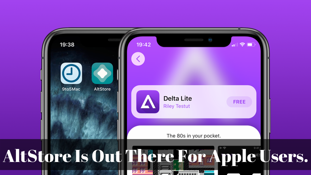 AltStore Is Out There For Apple Users.