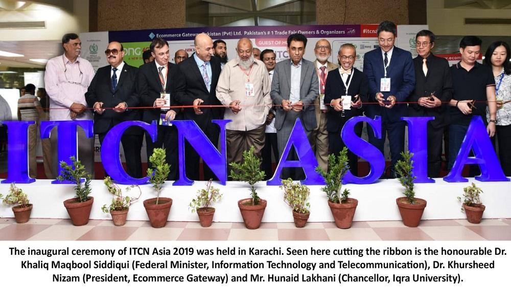 E. ITCN Asia Inauguration ceremony