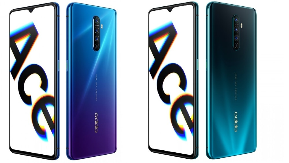 OPPO Reno Ace Official Renders
