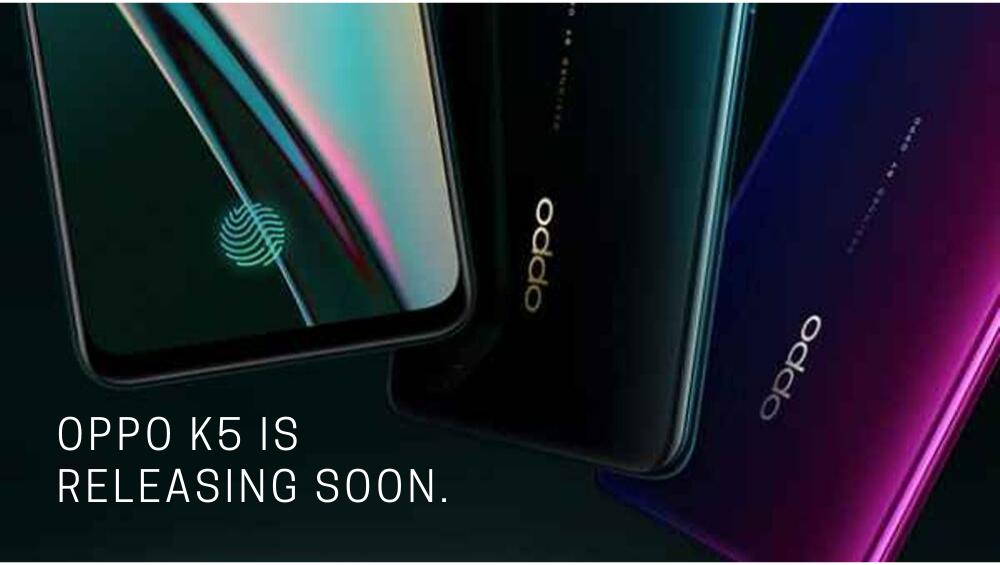 Oppo K5 Is Releasing Soon.