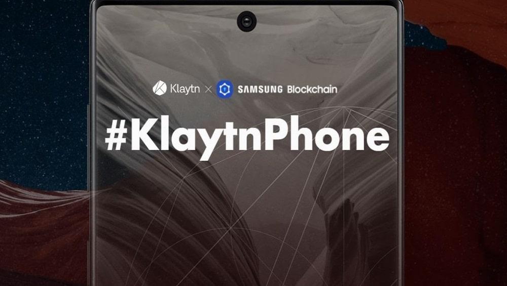 Samsung KlaytnPhone Blockchain Note10
