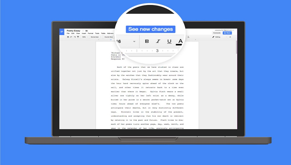 Google Docs Update: Now get real Time Word Count